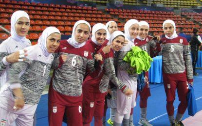 گزارش تصویری/ تمرین تیم ملی فوتسال بانوان در محل برگزاری رقابتهای آسیایی