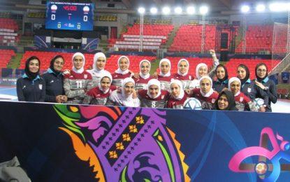 اولین تمرین تیم ملی فوتسال بانوان برگزار شد