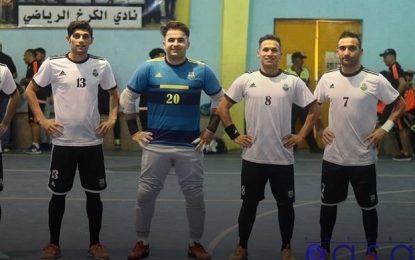 قهرمانی نفت با بازیکنان ایرانی در لیگ فوتسال عراق