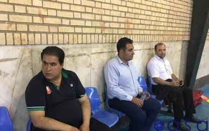 ضرب و شتم قائم مقام باشگاه گیتی پسند توسط هواداران قرچکی