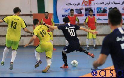 نتایج هفته هفتم لیگ دسته اول در گروه های دوگانه؛ پایان نیم فصل در گروه ب با صدرنشینی سفیر/ حکایت همچنان در گروه الف باقیست