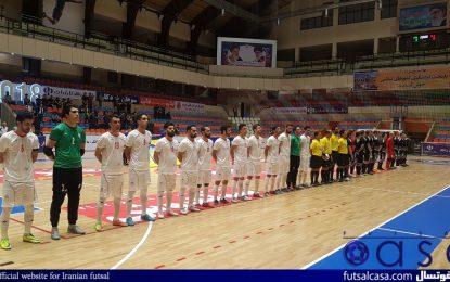 پیروزی برابر اکراین؛ کسب عنوان قهرمانی تیم ملی فوتسال ایران در تورنمنت چهارجانبه فوتسال تبریز