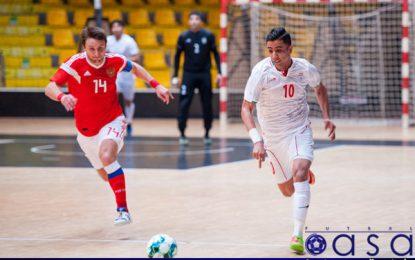 تصاویری از دیدار تیم ملی فوتسال ایران با روسیه