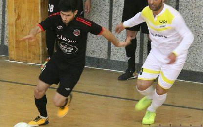 گزارش تصویری دیدار دو تیم ارژن شیراز و محمد سوهان قم