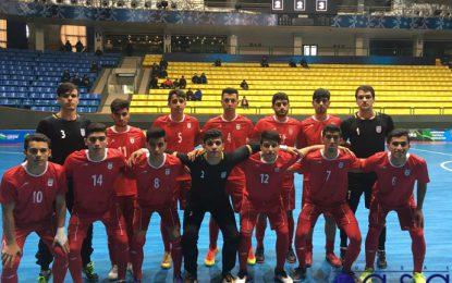 مرحله انتخابی جام ملتهای فوتسال زیر۲۰ سال ۲۰۱۹- ازبکستان؛ برتری ایران در مقابل ترکمنستان/ایران ۶ ترکمنستان ۳ +عکس