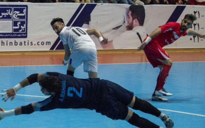 گزارش تصویری دیدار دو تیم گیتی پسند اصفهان و مقاومت البرز