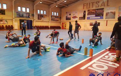گزارش تصویری آخرین تمرین تیم ملی فوتسال