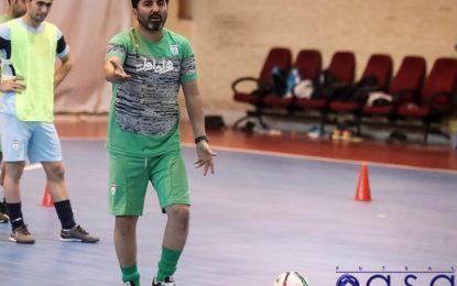 سرمربی تیم ملی فوتسال: درخواست یک بازی دوستانه با تیمهای اروپایی را دادهام