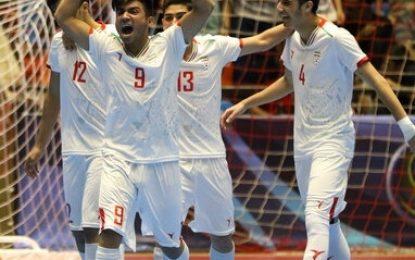 فوتسال زیر۲۰ سال قهرمانی آسیا- تبریز؛ ایران با پیروزی پرگل برابر اندونزی به مقام سوم آسیا رسید