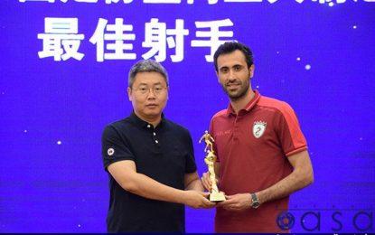 اسماعیلپور: میتوانستم با ۱۰۰ گل آقای گل لیگ چین شوم / سه باشگاه ایرانی با من تماس گرفته اند