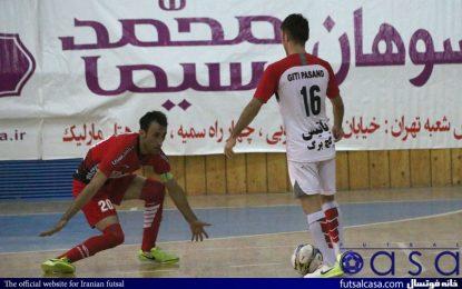 گزارش تصویری دیدار سوهان محمد قم و گیتی پسند اصفهان