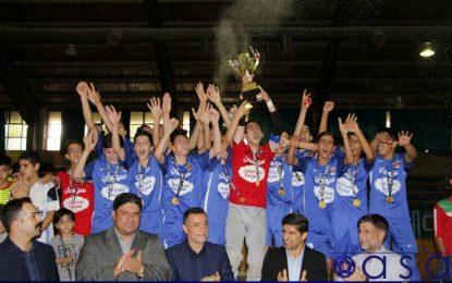 نونهالان قمی قهرمان لیگ دسته یک فوتسال کشور شدند