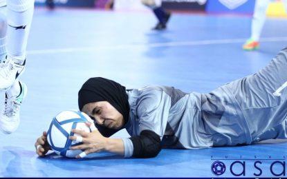 دروازهبان تیم ملی فوتسال زنان ایران در بین برترینهای جهان