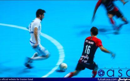 گزارش تصویری دیدار گیتی پسند اصفهان و شاهین کرمانشاه