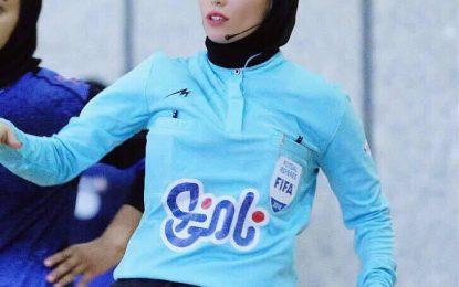زری فتحی: میخواهم در جام جهانی فوتسال سوت بزنم