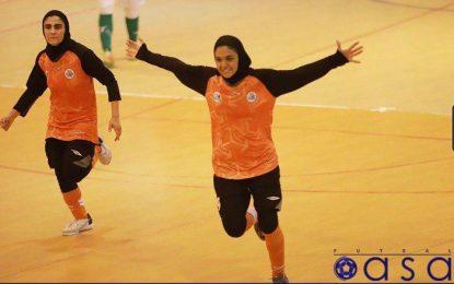 صعود تیم فوتسال بانوان سایپا به فینال پلی آف لیگ برتر