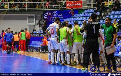 اردوی تیم ملی فوتسال از اواسط خرداد آغاز میشود