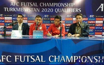 سرمربی قرقیزستان: تیم ملی فوتسال ایران تیم قوی و با تجربه ای است