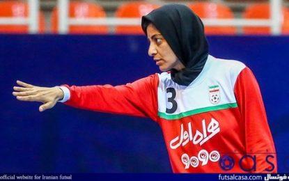 شهرزاد مظفر: دوست دارم به فوتسال ایران برگردم/ کرونا ترمز تیم کویت را کشید