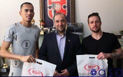 بازیکنان برزیلی گیتی پسند به کشورشان بازگشتند
