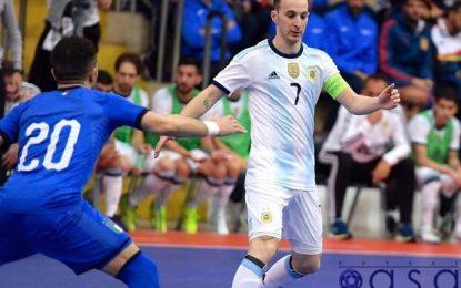 بازیکن تیم ملی فوتسال آرژانتین: حیف شد جام جهانی به تعویق افتاد