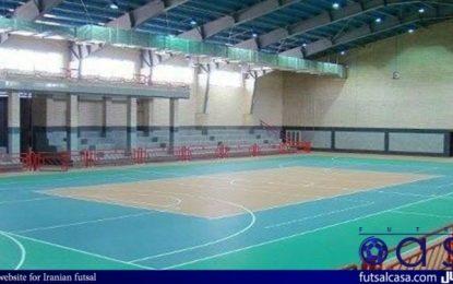 برگزاری دیدار سوم فینال لیگ برتر فوتسال در کرمان و به یاد شهیدحاج قاسم سلیمانی