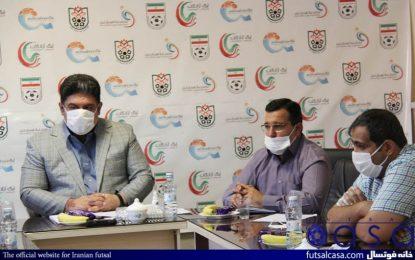 جلسه هماهنگی بازی فینال فوتسال لیگ برتر کشور در هیات فوتبال آذربایجان شرقی