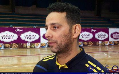 اصغری مقدم: کوثر اصفهان تیم بسیار خوب و قابل احترامی است/ تمام تلاشمان را برای کسب نتیجه قابل قبول به کار میگیرم