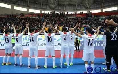 میزبان مسابقات مقدماتی فوتسال زیر ۲۰ سال آسیا مشخص شد