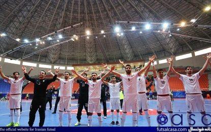 تیم ملی فوتسال همچنان در رده ششم جهان