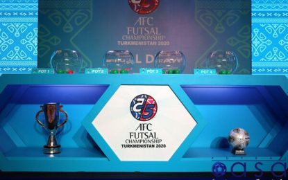 تعویق جام ملتهای فوتسال آسیا تا سال ۲۰۲۱