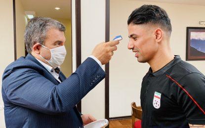 پزشک جدید تیم ملی پس از حضور در اردو: کلیه پروتکل های بهداشتی در اردوها رعایت می شود
