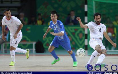 ساعت بازی تیم ملی فوتسال با ازبکستان مشخص شد