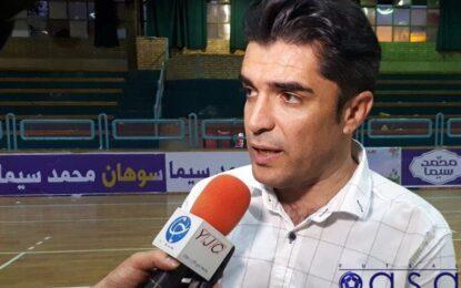 صبوری: محکوم به برد در برابر «شهید منصوری قرچک» هستیم/ تلاش می کنیم در پایان مسابقه شرمنده هواداران و علاقمندان نشویم