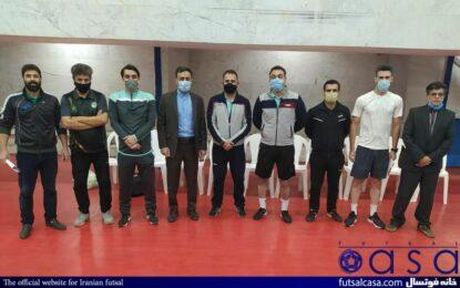 کادر فنی شهرداری ساوه در فصل جدید لیگ دسته اول معرفی شدند