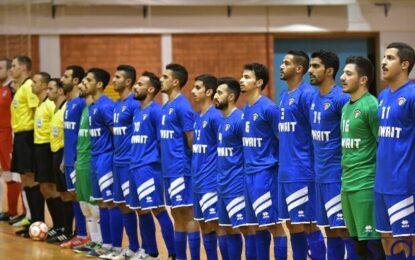تیم ملی فوتسال کویت و ۸ بازی تدارکاتی تا مسابقات قهرمانی آسیا