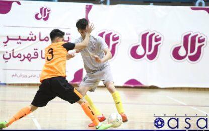 فردوس قم جام قهرمانی لیگ برتر نوجوانان را بالای سر برد