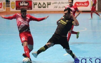 گزارش تصویری دیدار کوثر اصفهان و سن ایچ ساوه
