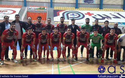 زمان سفر کاروان تیم فوتسال گیتی پسند اصفهان به ساری مشخص شد