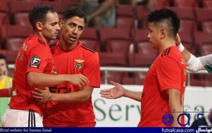 طیبی دو دیدار بنفیکا را در لیگ فوتسال پرتغال از دست داد